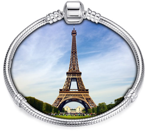 Pandora Compatible Charms By Landmark: Eiffel Tower