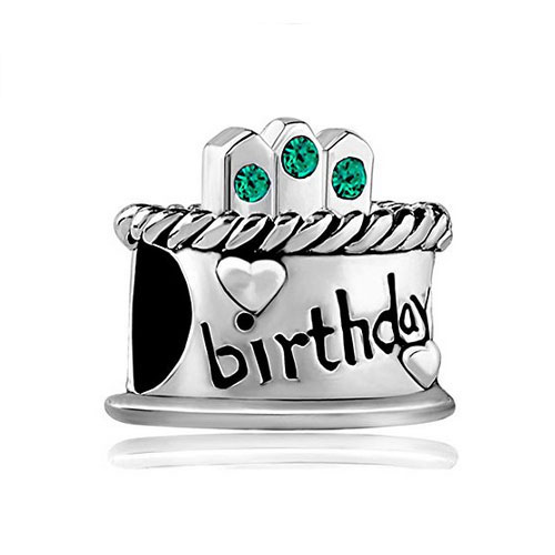 Pandora Compatible Charms For Special Occasions: Birthdays