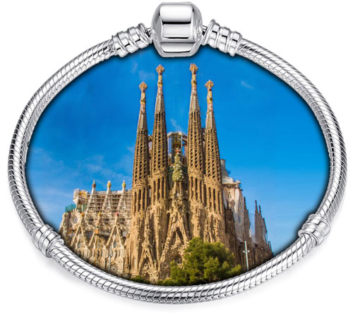 Pandora Compatible Charms By Landmark: Sagrada Familia