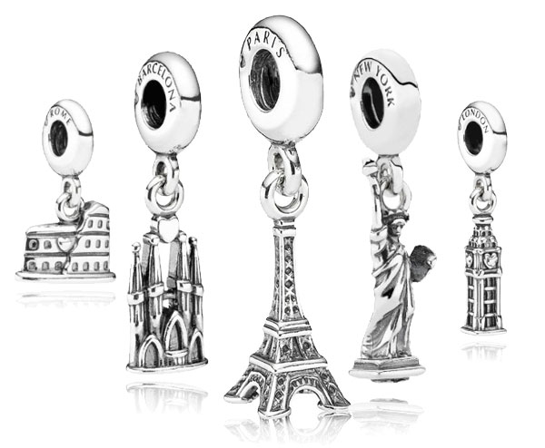 Pandora Compatible Charms Amp Beads From Around The World