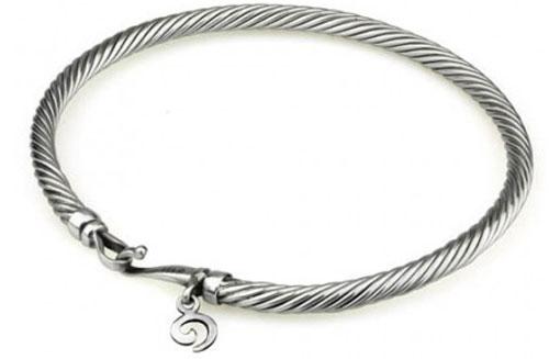 Compare Charm Bracelets: OHM Twisted Bracelet