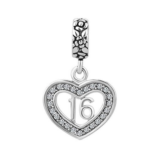 Sweet 16 Dangle Charm