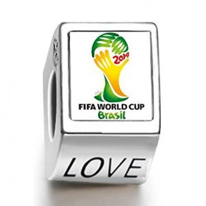 2014 FIFA World Cup Logo with Love Engraving