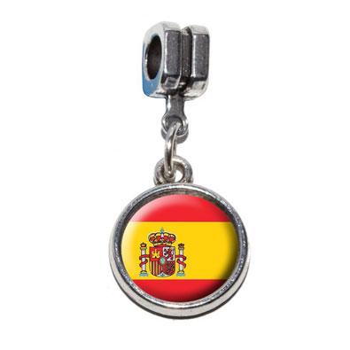 Spanish Flag Dangle Charm