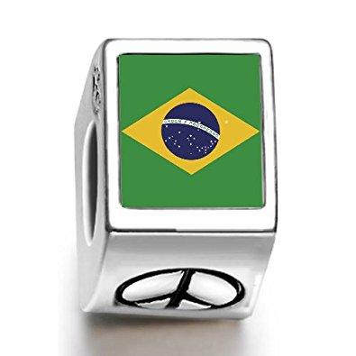 Brazil World Cup Peace Bead