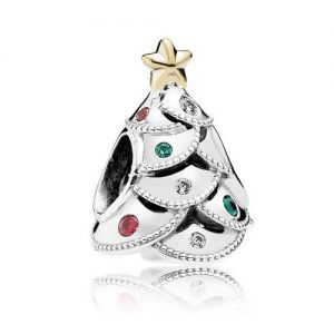 Official Pandora Christmas Charms: Christmas Tree Charm