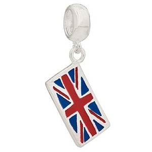 UK Silver Passport Charm
