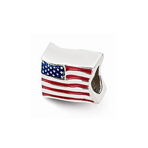 USA Flag Bead