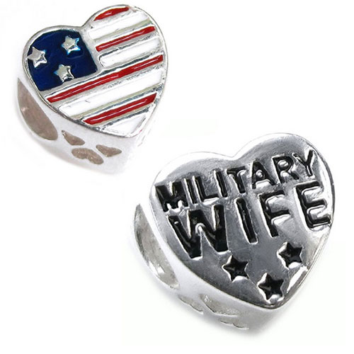 USA Military Wife Heart