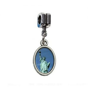 Statue of Liberty Photo Charm