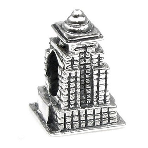 Empire State Building Charm Bead