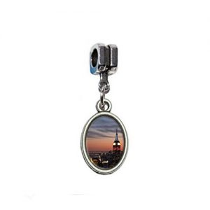 New York Skyline Photo Charm
