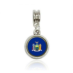 New York State Flag Charm