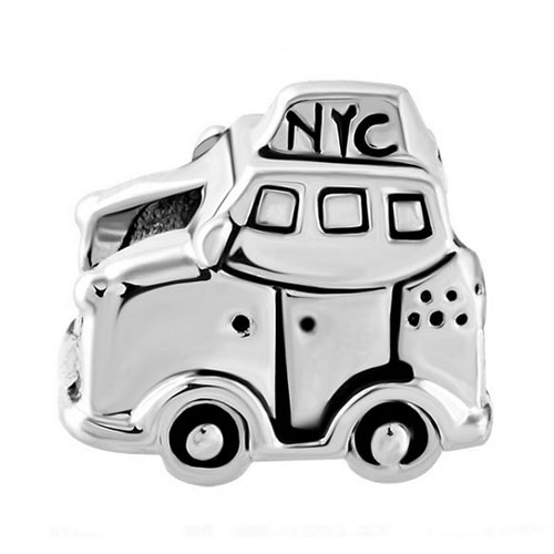 New york Taxi Charm Bead