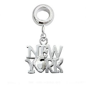 New York Dangle Charm