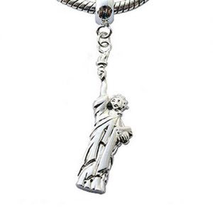 Statue of Liberty Dangle Style Charm