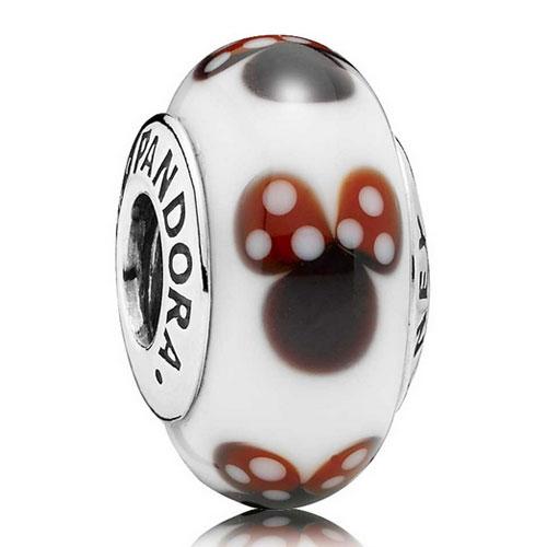 Offical Pandora Disney Mini Mouse Charm Bead