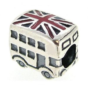 Queenberry London Bus Bead