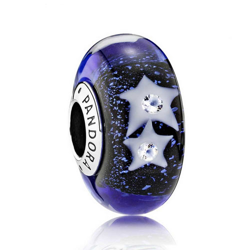 Night Sky Dark Blue Charm