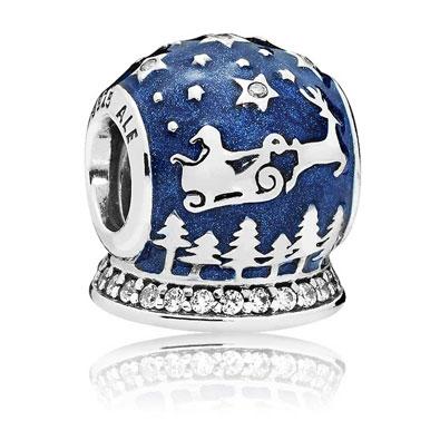 Official Pandora Christmas Charms: Christmas Night Charm Bead