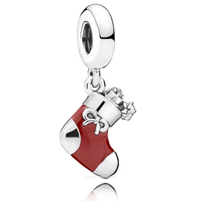Pandora Christmas Charm Stocking