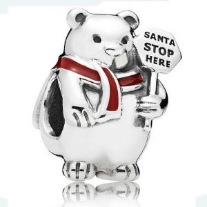 Christmas Polar Bear Bead