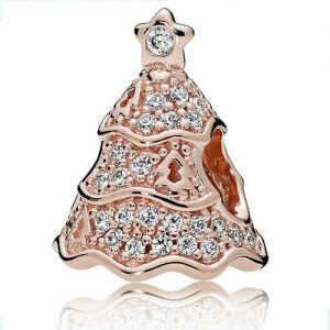 Pandora Rose Gold Christmas Tree