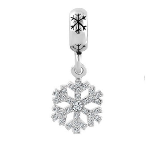Snowflake Dangle Charm