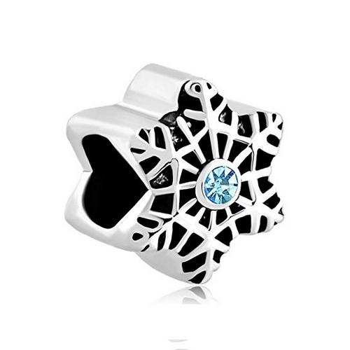 Snowflake Star Bead