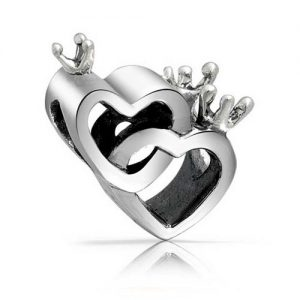 Crown Hearts Love Charm